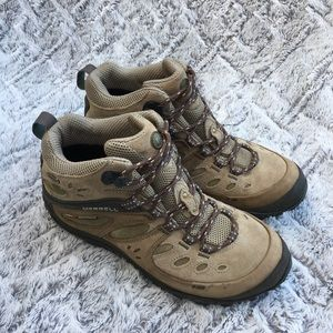 MERRELL Chameleon Arc Mid WP/Canteen Hiking shoes